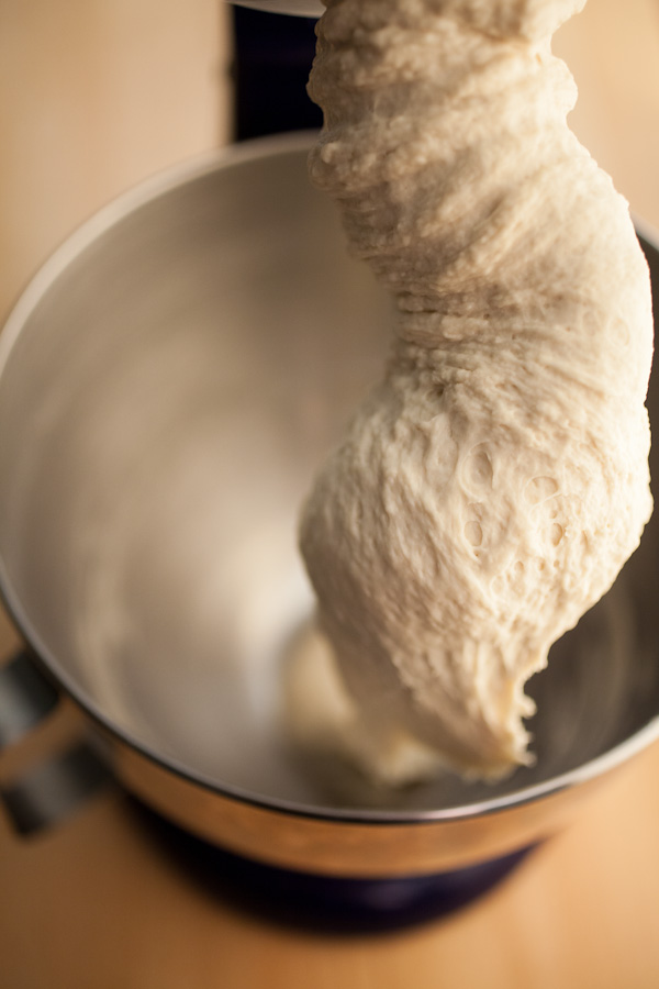 Wet Pizza Dough