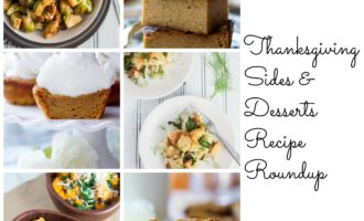 Thanksgiving Sides & Desserts Recipe Roundup