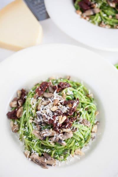 Spinach and Walnut Pesto
