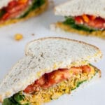 Curried Chickpea Salad Sandwiches