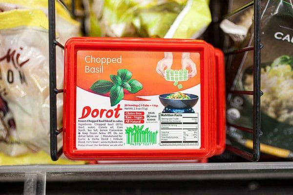Dorot basil in store