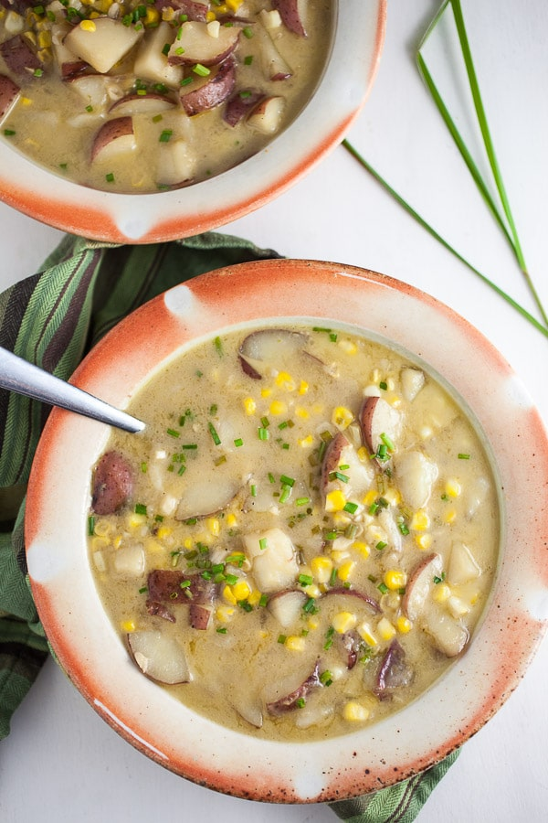 Thai-Style Potato and Corn Chowder