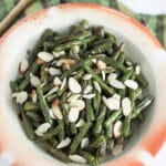 Simple Garlicky Roasted Green Beans