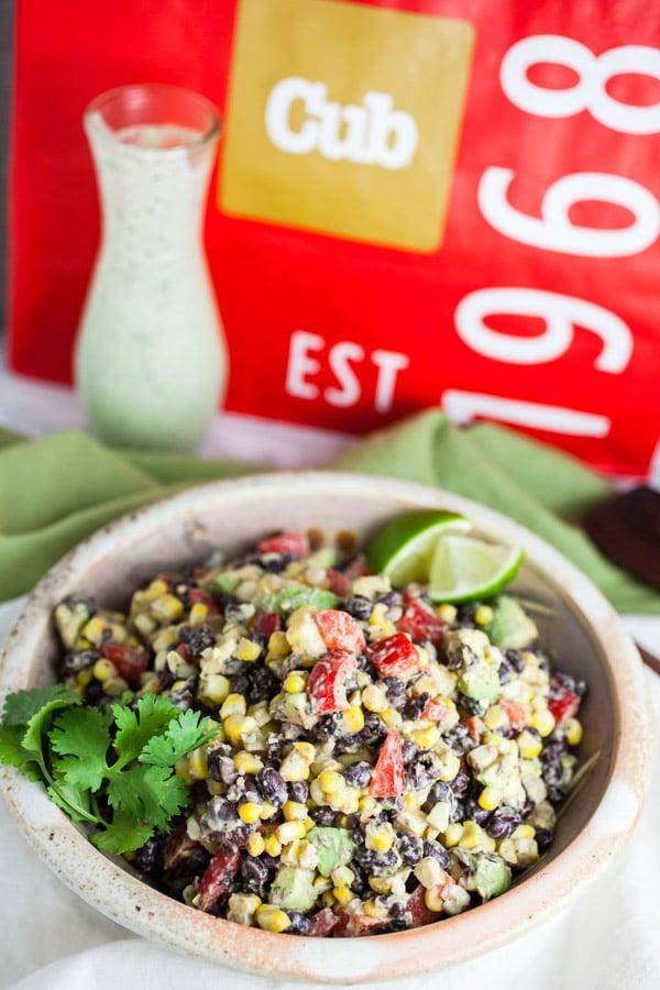 Southwest Black Bean and Corn Salad