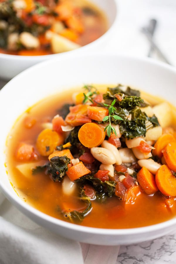 Healthy Harvest Vegetable Soup