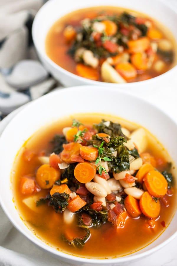 Healthy Harvest Vegetable Soup