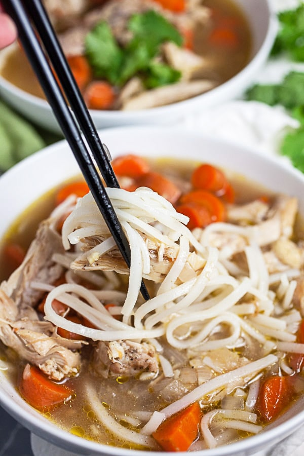 Pho Ga Vietnamese Chicken Soup The Rustic Foodie