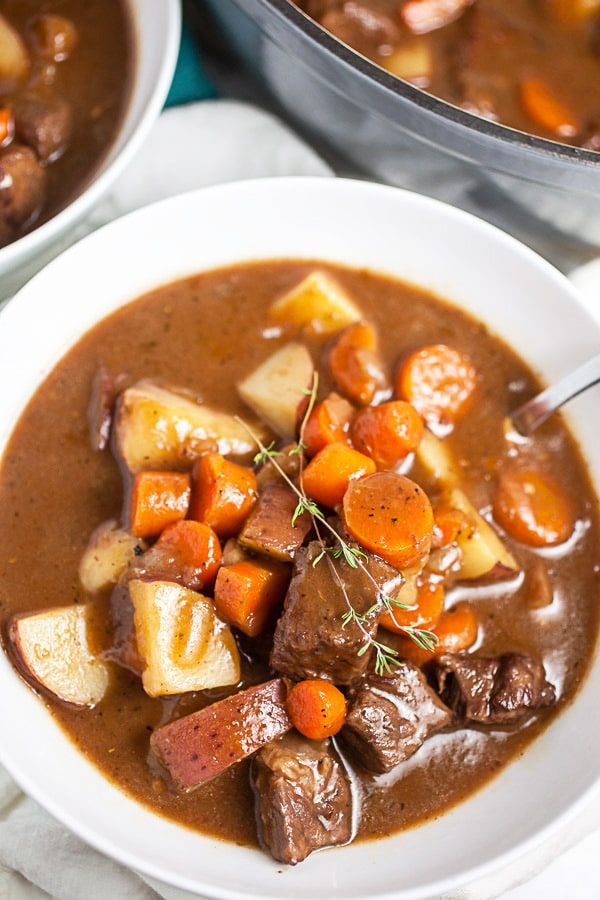 Gluten Free Stove Top Hearty Beef Stew Recipe The Rustic Foodie