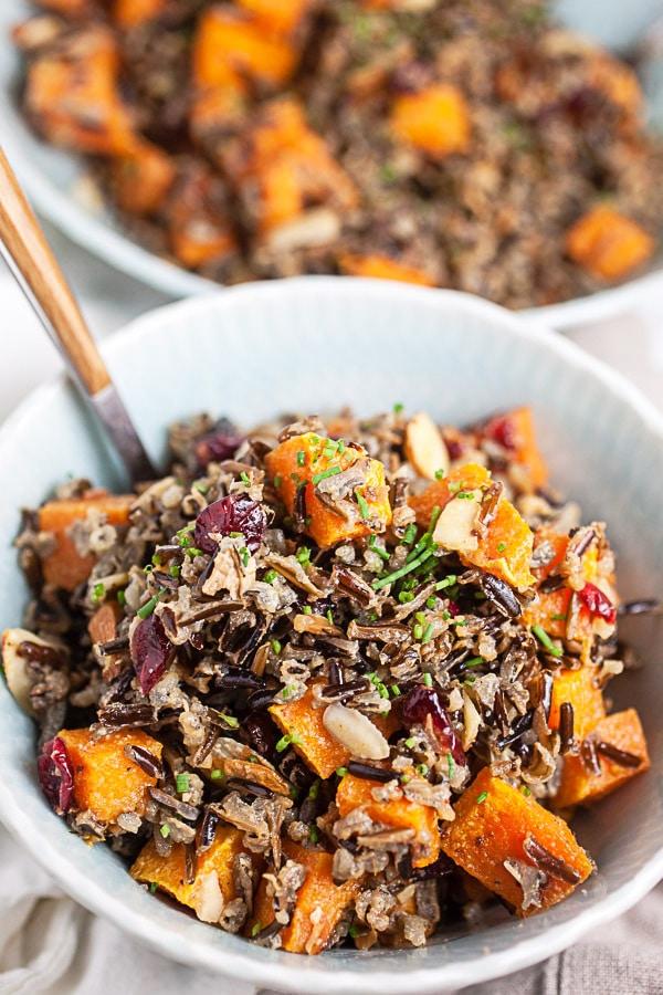 Fall Harvest Wild Rice Salad